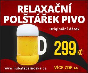 Tip - polštářek pivo