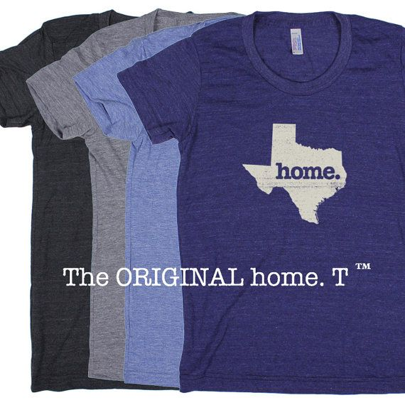 Texas Home. Tshirt Womens Cut American Apparel by HomeStateApparel, $21.95
