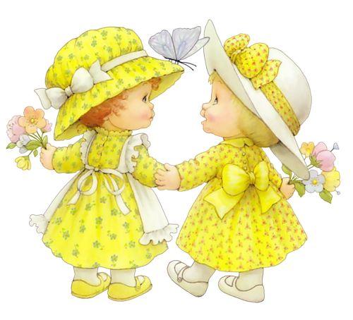 Дочкой, картинки девочки подружки для детей