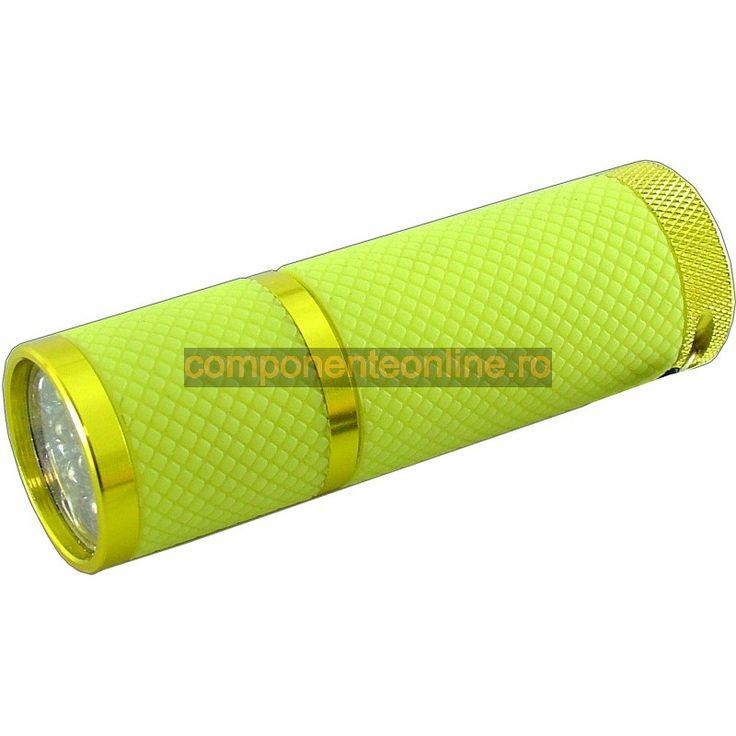 Lanterna cu 9 LED-uri, fosforescenta - 113378