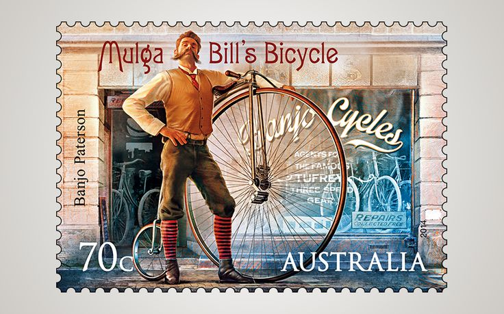 Published in the Sydney Morning Herald in July 1896, this humorous poem was written at the height of the late-19th-century bicycling craze. http://auspo.st/1ghgCPc
