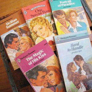 Harlequin Novels Set Of 5 I, $16, now featured on Fab.