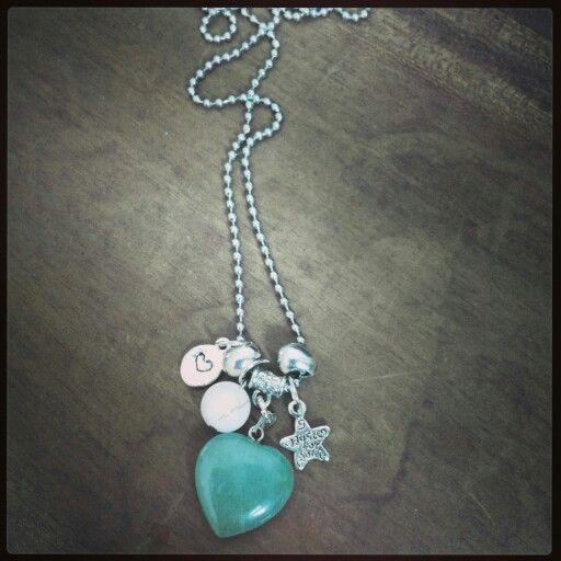 M-Brace sieraden - Ketting met Jade hanger