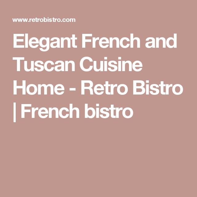 Beautiful Cuisine Retro Bistro Pictures - Yourmentor.info ...