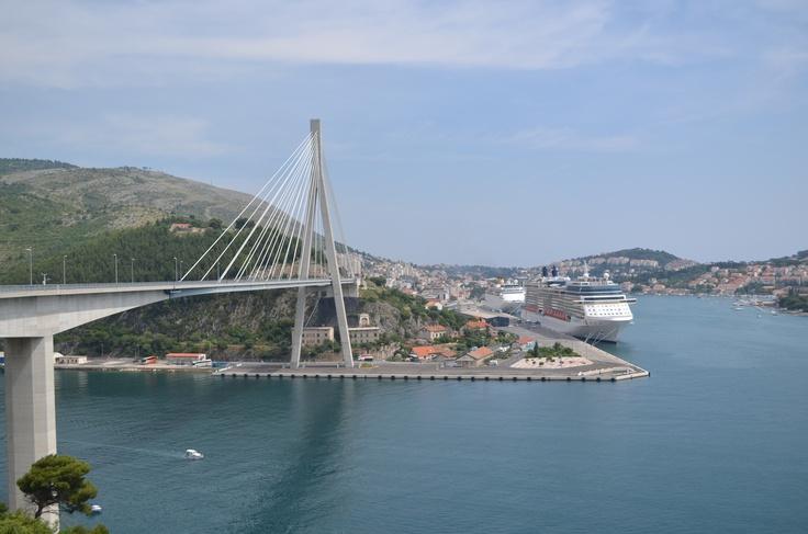 Dubrovnik's bridge