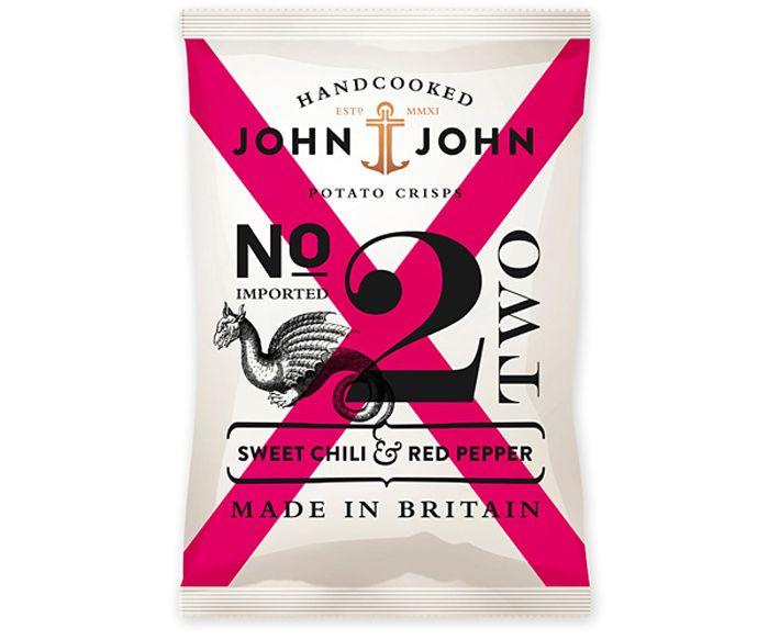 John & John PotatoCrisps - The Dieline - The #1 Package Design Website -