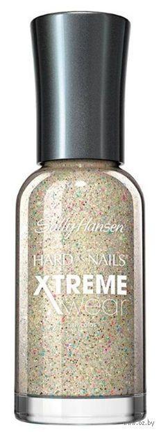 "Лак для ногтей ""Hard as nails xtreme wear"" (тон: 305, белый с блестками)"