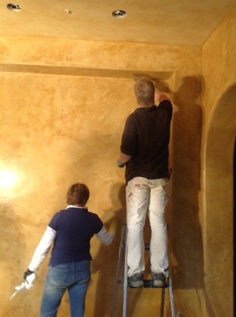 Real Plaster Walls : Best images about pared con estuco wall on pinterest
