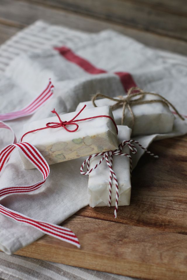 Sardinian Torrone ~ The Perfect Gift. Only Three Ingredients For This Delicious Candy.