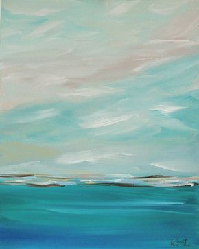 Landscapes and Seascapes - Beach Style - Originals And Limited Editions - Sacramento - Kamara Larry
