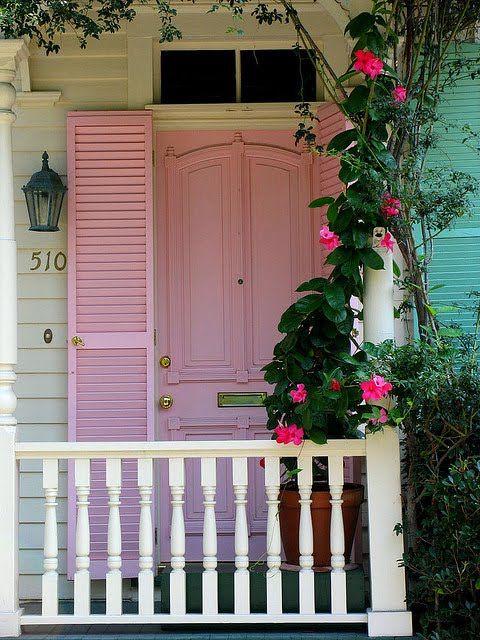 My door would be pretty in pink.