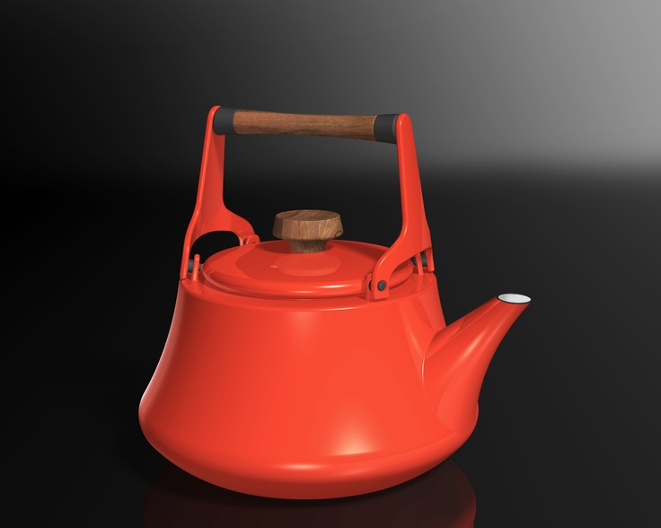 Dansk introduce some new additions to their iconic 'Kobenstyle' collection in 2013, which included this 2-Quart Enamel Kettle  www.lenox.com #tableware #lenox #dansk #kobenstyle #cookware #cookshop
