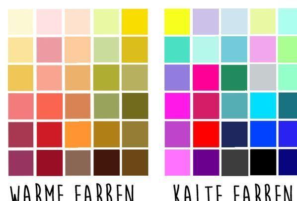 Farbberatung Kalte Farben Und Warme Farben In 2020 Geometric