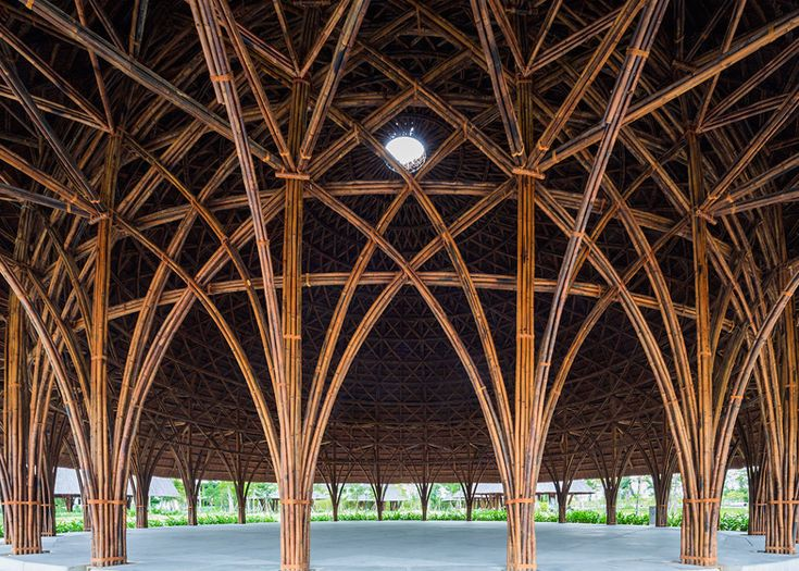 25+ Best Ideas about Bamboo Structure on Pinterest   Bamboo architecture, Bamboo tree and Bamboo ...