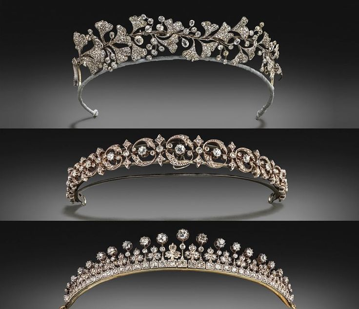 These Stunning Tiaras Are A Selection Of The Five Offered