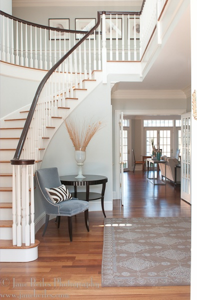 This Susan Glick Foyer Design Makes For A Stunning Entrance In Westport CT    It Was