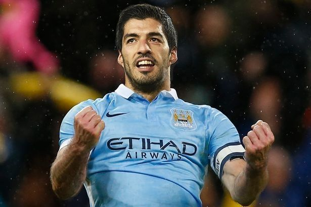 Luis Suarez Manchester City #mancity #manchestercity #suarez #football #soccer #sports #pilkanozna #futbol