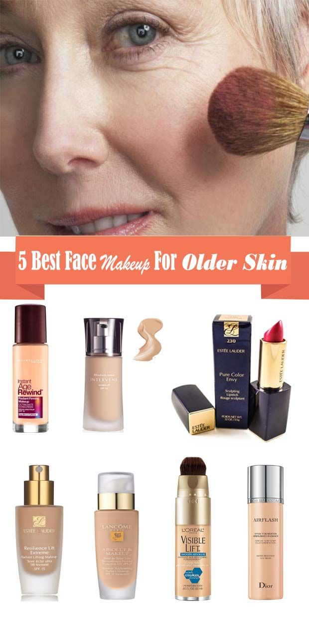 Best Face Makeup For Older Skin Best Face Makeup For Women Over 50 Best Face Makeup For Oily Sk Best Face Makeup Best Face Products Foundation For Older Skin