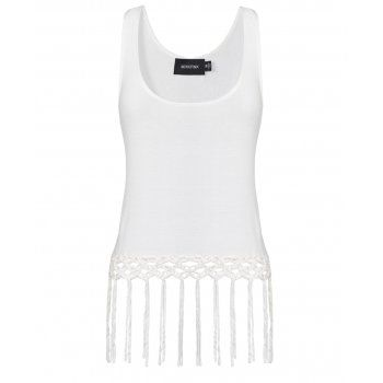 Tassel crop top -perfect for the perfect midrife!  #WinSupergaWithRitaOra