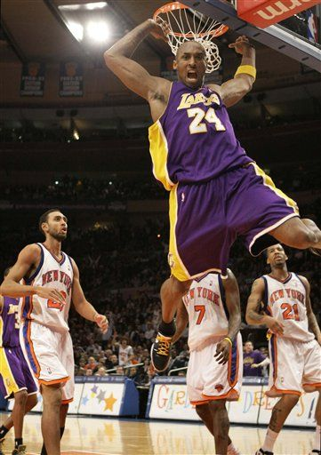 Kobe Bryant sets MSG record with 61