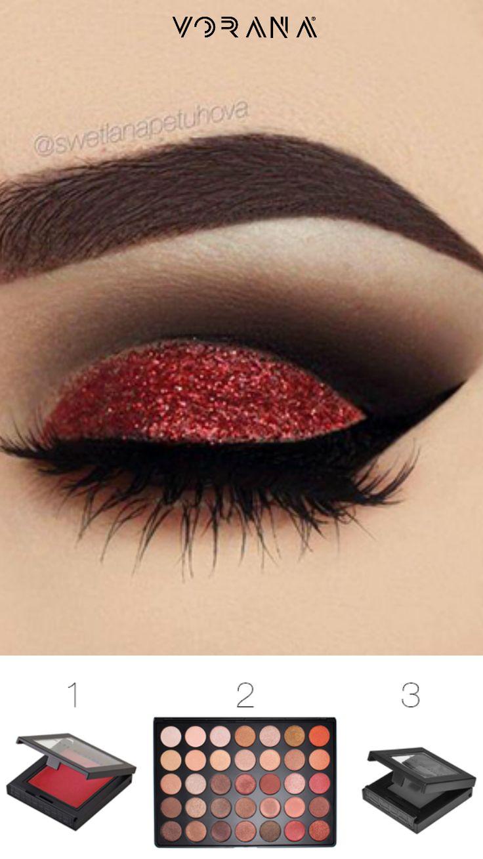 5 opciones de maquillaje para ojos #Navidad #VoranaBlog #Ojos