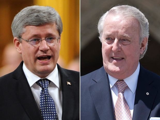 After secret meeting with Brian Mulroney, Stephen Harper slammed for being anti-Quebec
