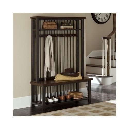 Entryway-Hall-Tree-Coat-Rack-Stand-Hat-Umbrella-Modern-Entry-Bench-Home-Furnitur