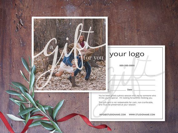 Gift Certificate Photography Gift Certificate by SavantDesign