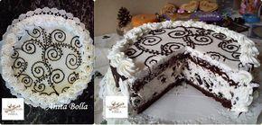 Csodás oreo torta ünnepi köntösben :)