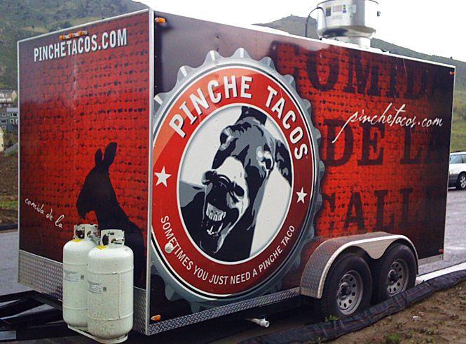 Pinche Tacos Branding Food Truck Design Menu Design