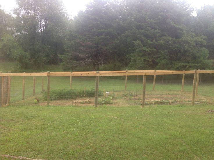 6 foot deer fence