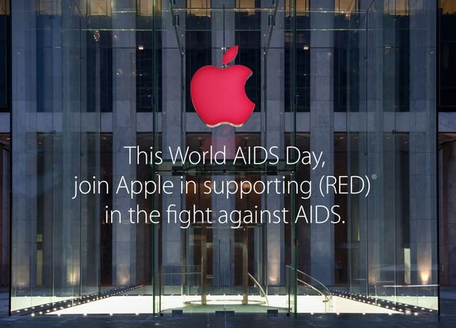 Apple Announces World AIDS Day 2014 Campaign for (RED) - http://iClarified.com/45557 - Apple has announced its largest-ever World AIDS day campaign featuring special apps that bring exclusive content, as well as a portion of all Apple sales going directly to help fight AIDS