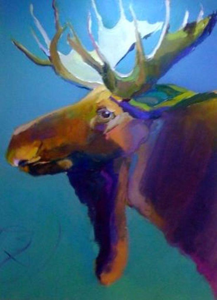 Moose Portrait-Bob Ransley