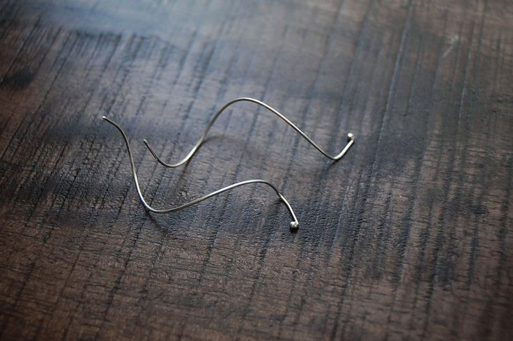 Silver Lines - Spiral Earring