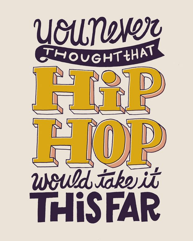 "58 Amazing Typography Images Of Notorious B.I.G.'s ""Juicy"" Lyrics"