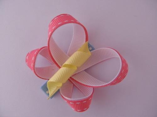 """Candy Floss"" Butterfly Hair Clip"