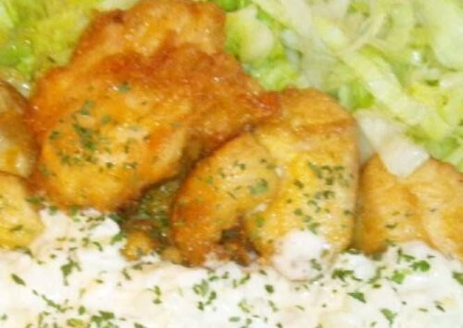 Easy Chicken Nanban with Sushi Vinegar and Tartar Sauce Recipe - Let's try to make Easy Chicken Nanban with Sushi Vinegar and Tartar Sauce in our home!