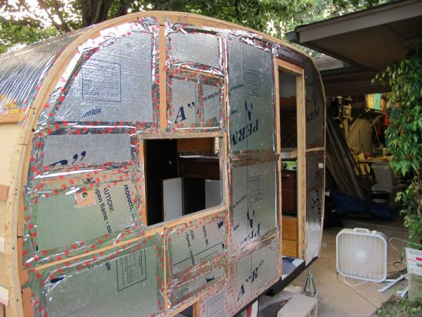 Canned ham trailer restoration.