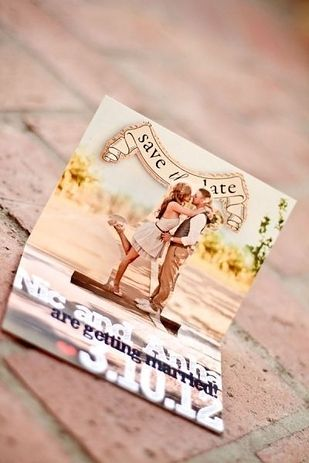 How cute is this save the date pop up? 16 Unique wedding invitations and save the dates