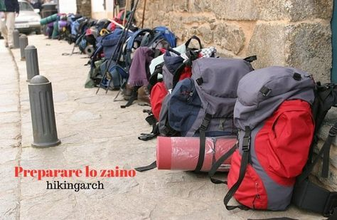 Preparare lo zaino per il Cammino di Santiago, i consigli