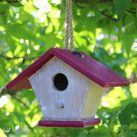 41 best Birdhouse - Maison du0027oiseaux Nichoirs images on Pinterest