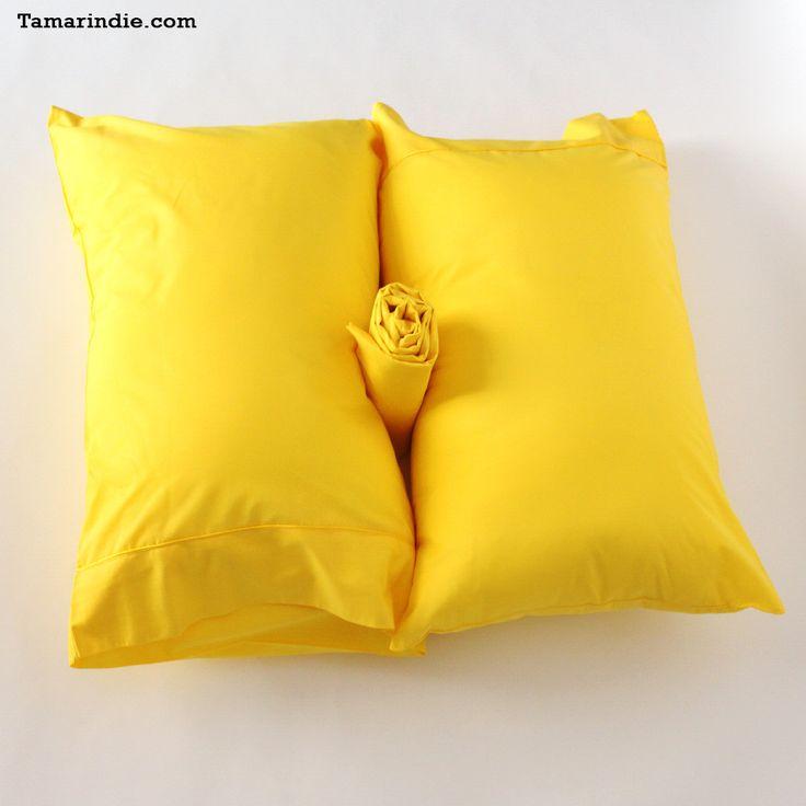 Bright Yellow Bed Sheet Sets