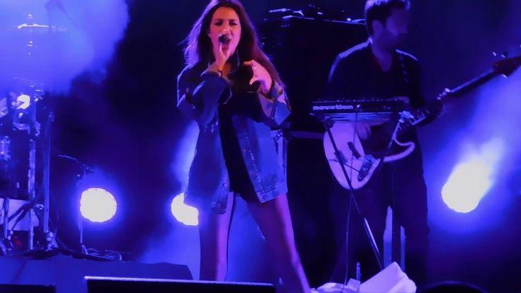 With the young and talented April Ivy! Live concert at Vila Franca de Xira.
