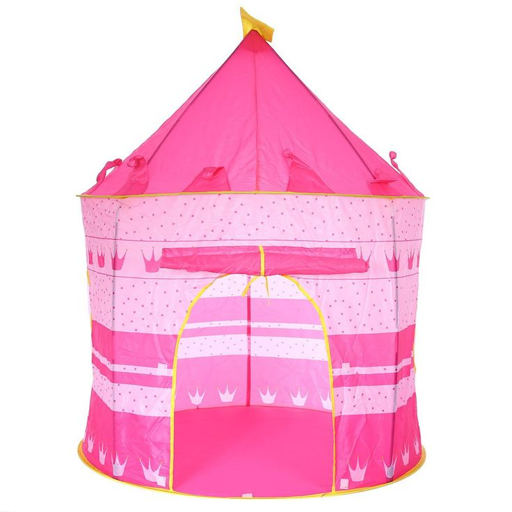 Children Beach Tent, Baby Toy Play Game House, Kids Princess Prince Castle Indoor Outdoor Toys Tents Christmas Gifts