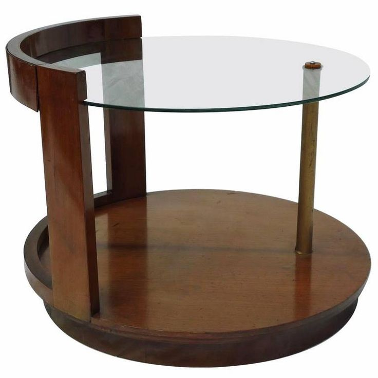 Rare walnut gilbert rohde cocktail table circa 1935 for Art deco furniture chicago