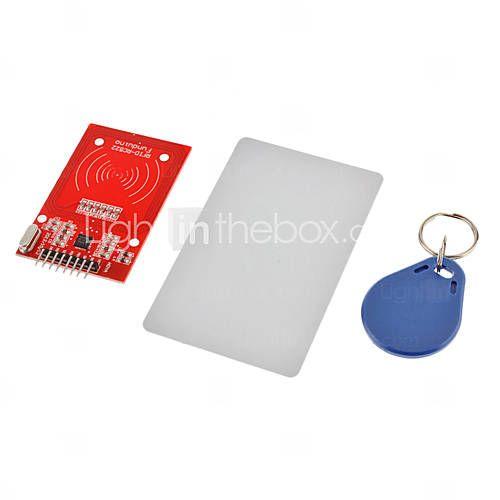 rc522のRFIDモジュール+ ICカード+(Arduinoのための)のためのS50復旦カードキーチェーンは、開発コードを提供 - USD $ 4.99