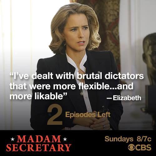 Madam Secretary Recap 5/1/16: Season 2 Episode 22