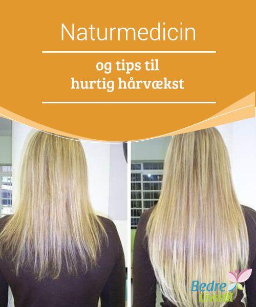 Naturmedicin og tips til hurtig hårvækst  Ved at #tilføre løg til den shampoo, vi normalt bruger, fremmer vi #blodcirkulationen, da det virker på #hårsækkene i vores hovedbund, samt at vi #styrker vores hår og få det til at vokse hurtigere.