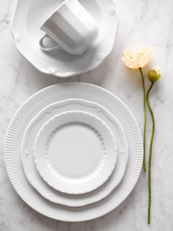 Mix and match Pillivuyt Eclectique Dinnerware