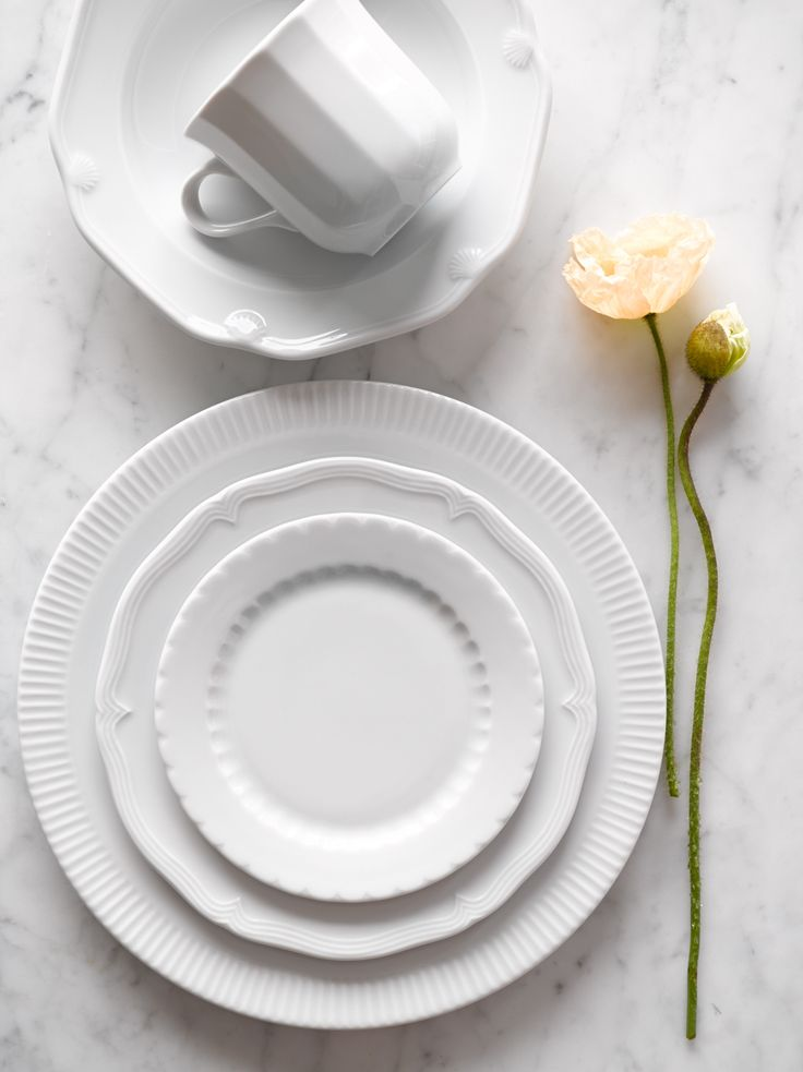 Best 25 White Dinnerware Ideas On Pinterest